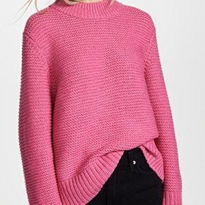 NWT Joie Adeen pink wool Sweater size Medium
